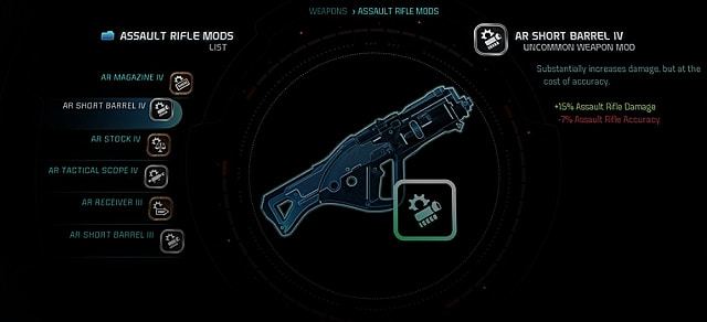 mass effect andromeda weapon mods