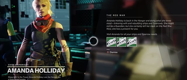 Speak with Amanda Holliday in Destiny 2 if you're wondering how to start the story post Shadowkeep.