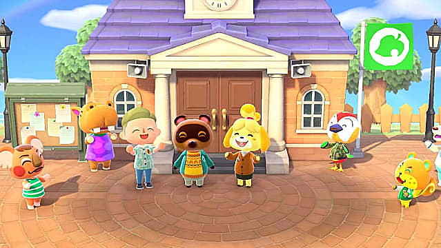 Animal Crossing House Roof