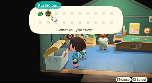 Animal Crossing New Horizons Gulliver And Rusted Parts Guide
