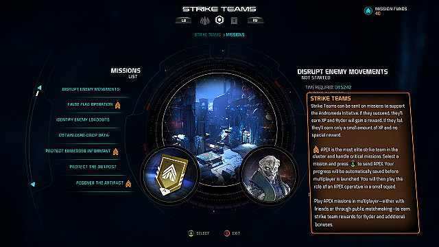 mass effect andromeda multiplayer apex missions