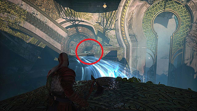 Spoils of war 3 near the light bridges in the ringed temple of Alfheim