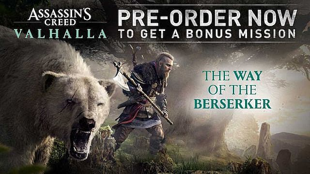 Assassin's Creed Valhalla Standard Edition Way of the Berserker Mission