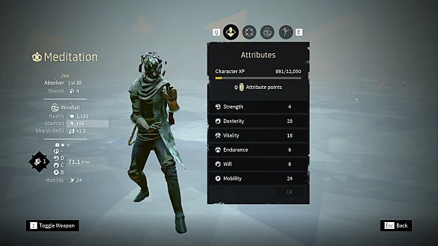 Best Stagger Build In Absolver