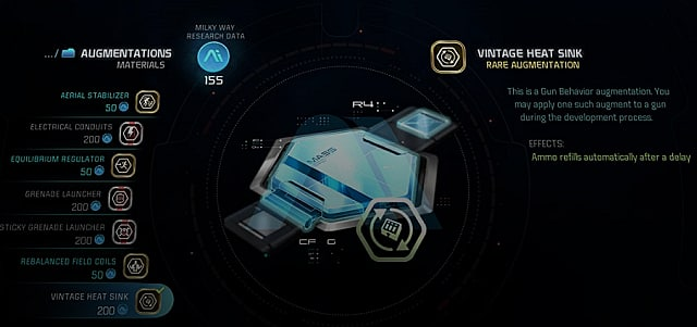 mass effect andromeda crafting augmentations