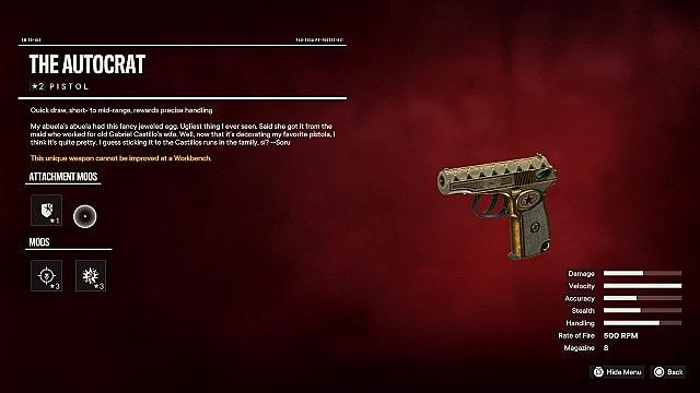 Autocrat unique pistol.