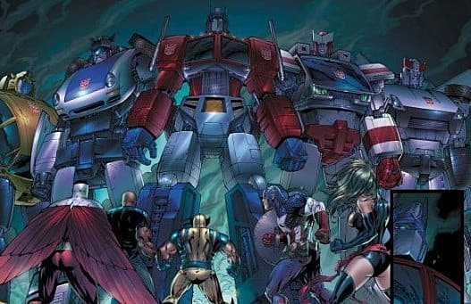 transformers fall of cybertron and marvel ultimate alliance coming