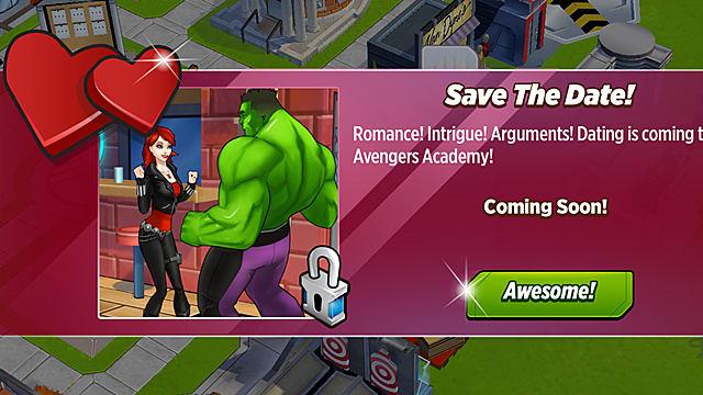 dating Marvel Avengers Academy