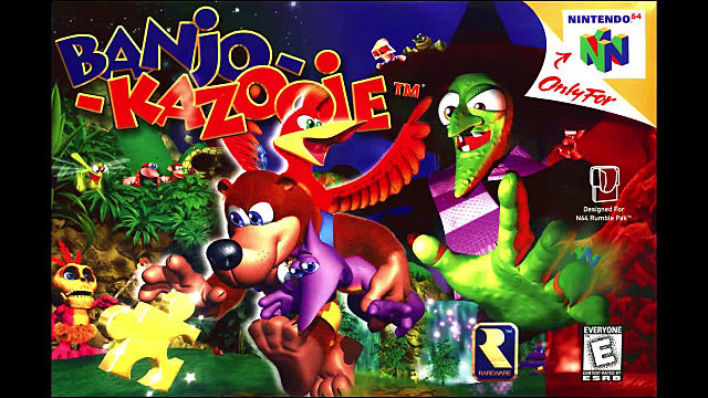 Box art from Banjo-Kazooie