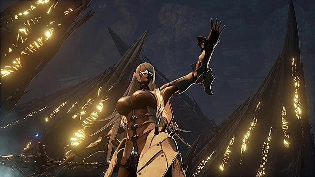 Blade Bearer's first form in Code Vein