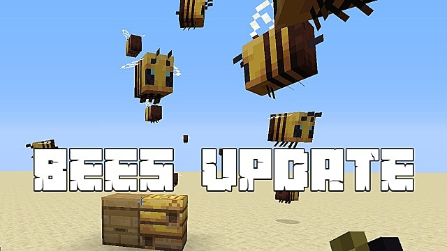 Minecraft Bees Guide How To Craft A Beehive And More