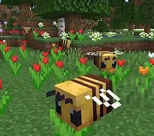 Minecraft Bees Guide: How to Craft a Beehive and More Minecraft