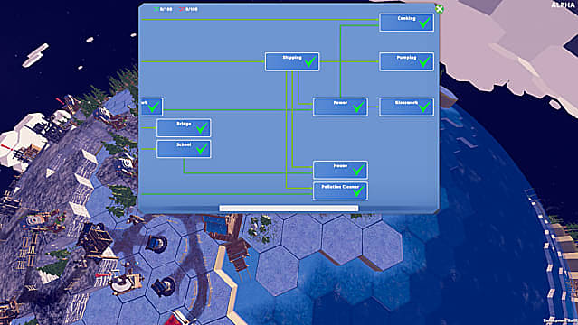 Before We Leave building tech tree in alpha.