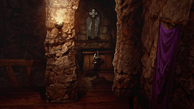 a recessed area in Ghost of a Tale that houses the thief belt