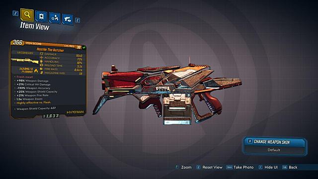 Legendary Shotgun: The Butcher