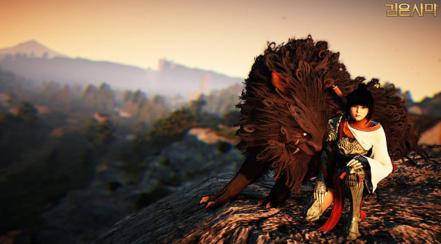 Tamer taking a rest from the fight in BDO