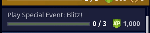 Fortnite special event blitz is a bit mysterious right now