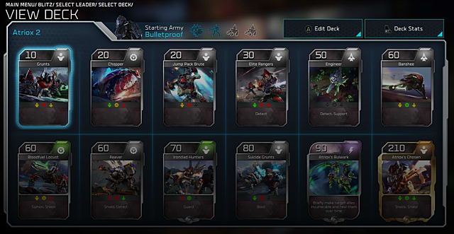 halo wars 2 deck building