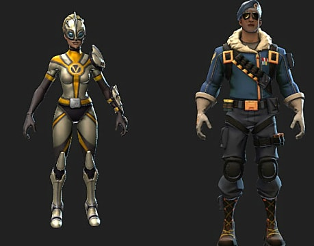 Fortnite leaked skins flytrap chrome commandos and more - Ventura fortnite ...