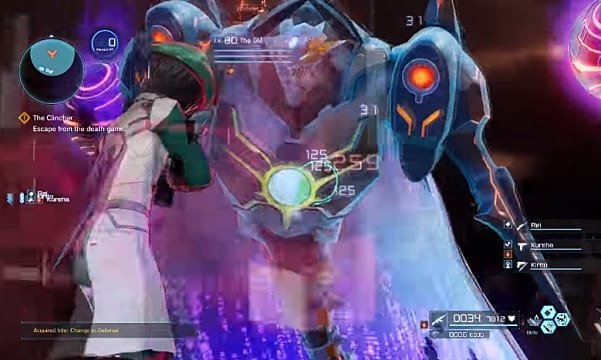 Avoid the hyperbeam when fighting the Fatal Bullet final boss or else face the consequences