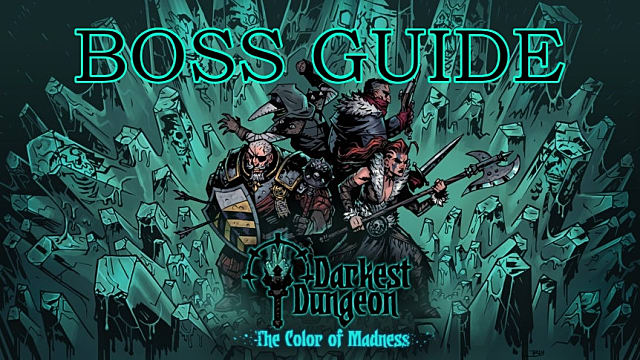 mejor calidad Excelente calidad Venta barata Darkest Dungeon: Color Of Madness DLC Boss Fight Guide ...