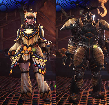 Armor sets from Great Hornfly in MH: World