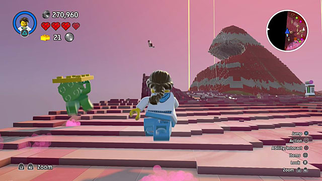 LEGO Worlds Guide How to Earn Gold Bricks Chasing Troublemakers Walkthrough