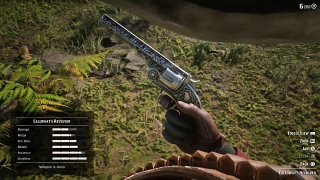 RDR2 Calloway's Revolver