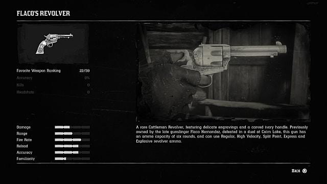 RDR2 Flaco's Revolver