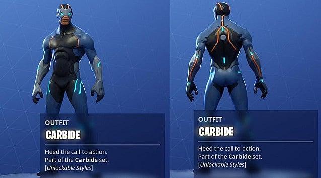 How To Unlock The Stellar Tier 1 Carbide Skin In Fortnite Season 4
