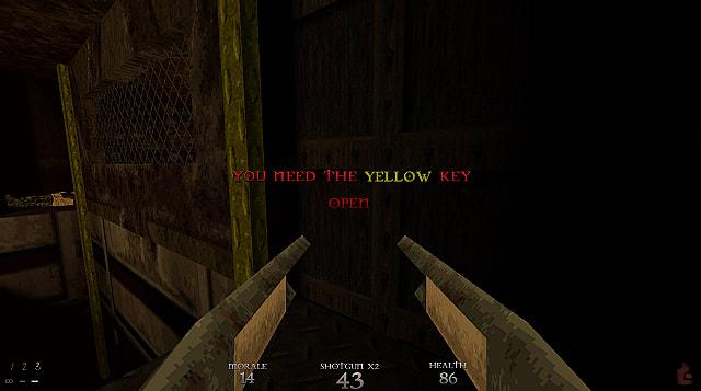 Dusk Card Key Doors