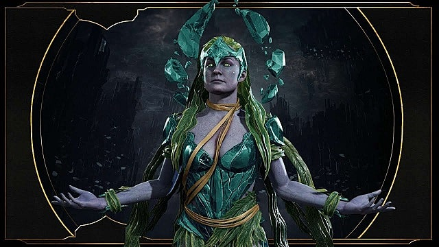 Cetrion from Mortal Kombat 11