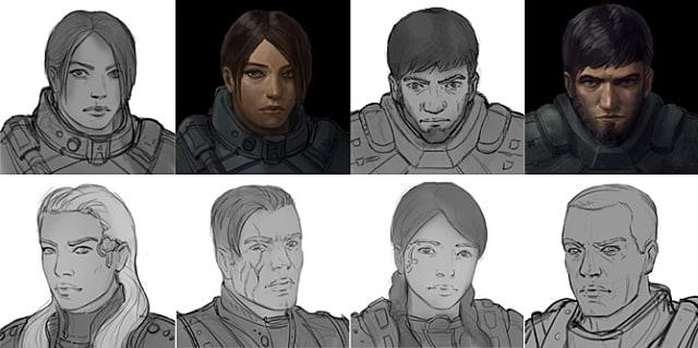 Stellar Tactics, Characters, Concept