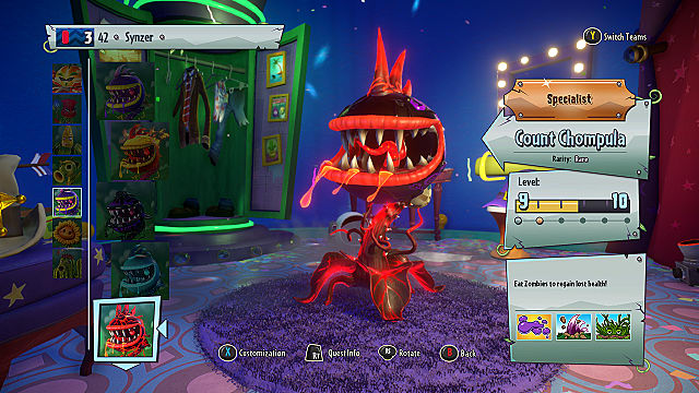 Plants Vs Zombies Garden Warfare 2 Chomper Class Guide | Plants Vs Zombies  Garden Warfare 2