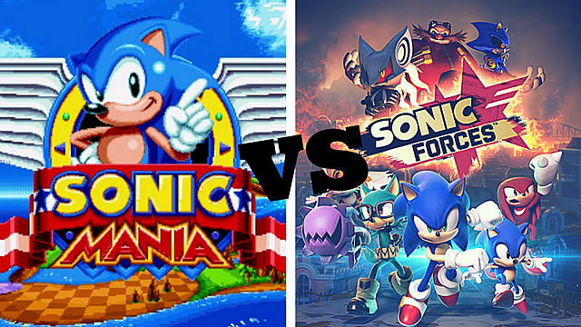 If You Have to Choose Between Sonic Forces and Sonic Mania