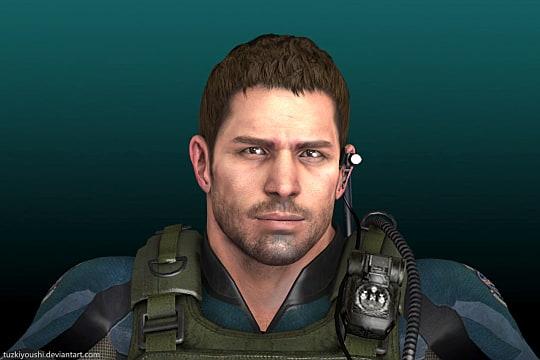 Chris Redfield, Resident Evil
