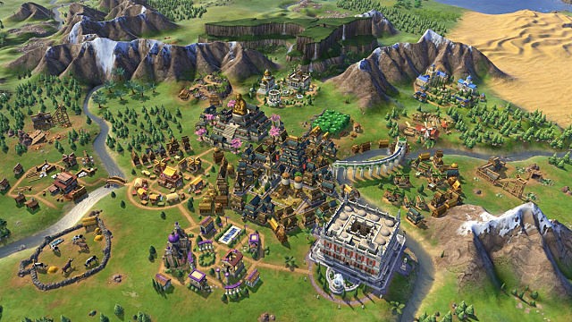 play out the rise and fall of the roman empire--or just about any empire--in civ 6 dlc
