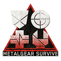 The four subclass symbols for Metal Gear Survive