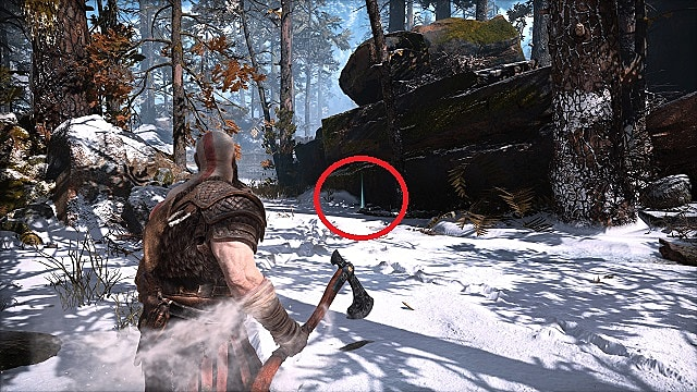 Lost and Found 1 in Kratos' Snowy Backyard