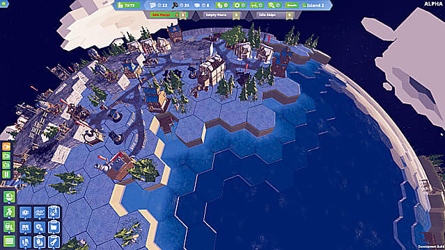 Building and managing a colony near the ocean in Before We Leave.