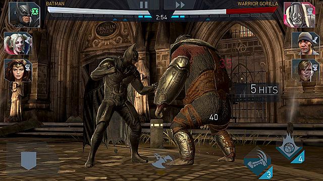 injustice 2 mobile combat
