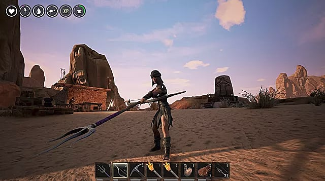 Conan Exiles Pve Guide Best Weapons Builds Locations And Servers Conan Exiles You also could just put it on black dragon armor and boom senator or something fancy, the khari gloves look sweet for anything set and gold base. conan exiles pve guide best weapons