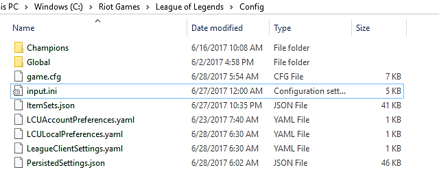 if you see those two files proceed if not you need to find them and the way i recommend you do that is by contacting riot games support