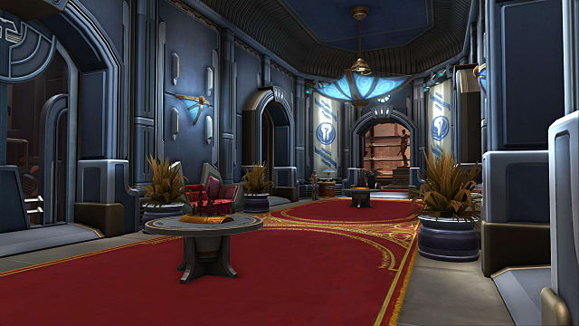 a well-decorated stronghold in SWTOR