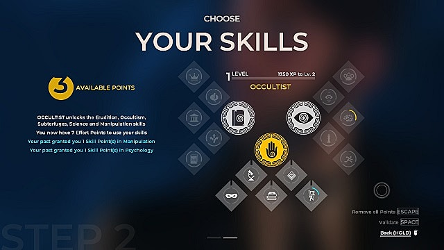 The Council Skill Tree