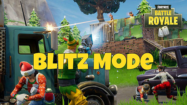 what is fortnite blitz mode - blitz game mode fortnite