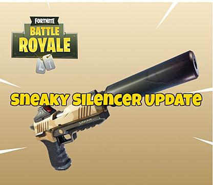Fortnite New Pistol And Sneaky Silencer Guide Fortnite