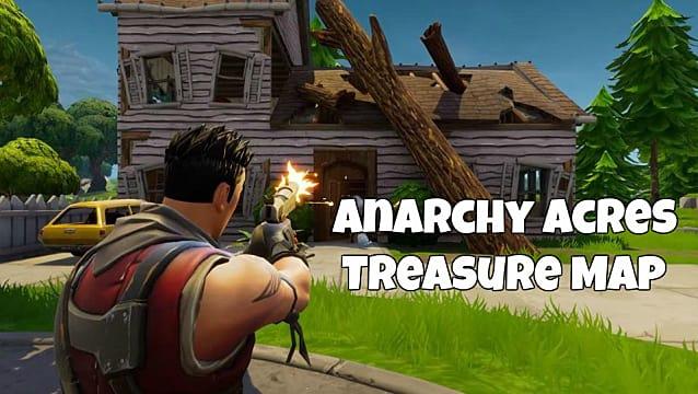 - fortnite junk treasure map