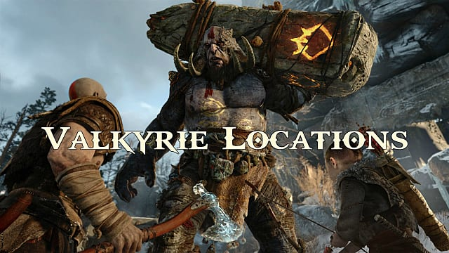 God Of War (2018) Guide: Every Secret Valkyrie Location Unlocked
