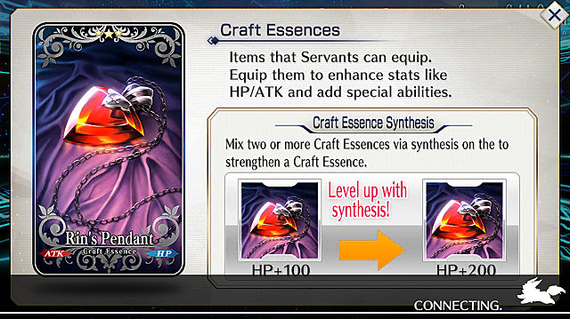 fate grand order craft essences